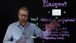 Placemat | Methode für den Unterricht (Unterrichtsbesuch, Lehrprobe, usw.)