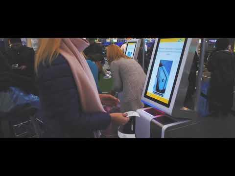 МАУ. Самостоятельная регистрация на рейс в аэропорту Борисполь.