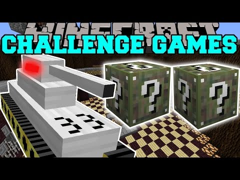 Minecraft: TANK CHALLENGE GAMES - Lucky Block Mod - Modded Mini-Game