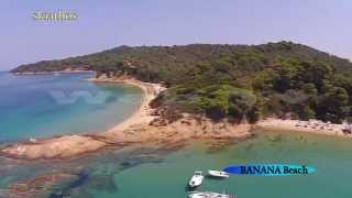 BANANA Beach skiathos 2014 summer