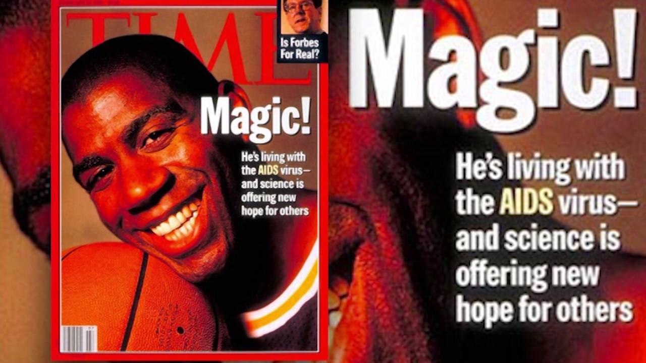 Magic Johnson HIV Announcement - YouTubeMagic Johnson Aids