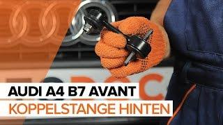AUDI A4 Avant (8ED, B7) Trommelbremsbacken vorderachse und hinterachse auswechseln - Video-Anleitungen