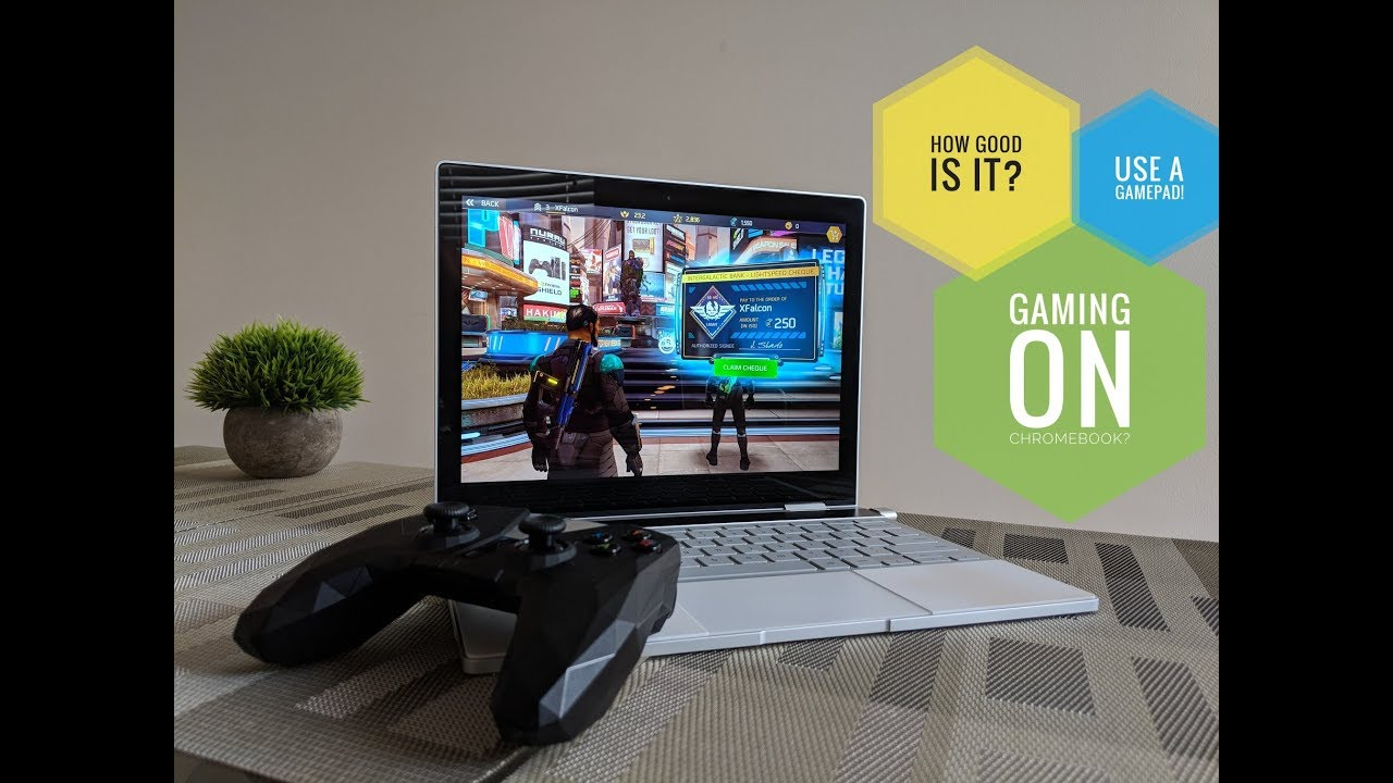 Chromebook Gaming With Android Apps Youtube
