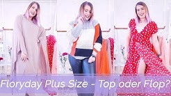 Floryday Plus Size Haul - Top oder Flop? 🤔| Missesviolet 💜