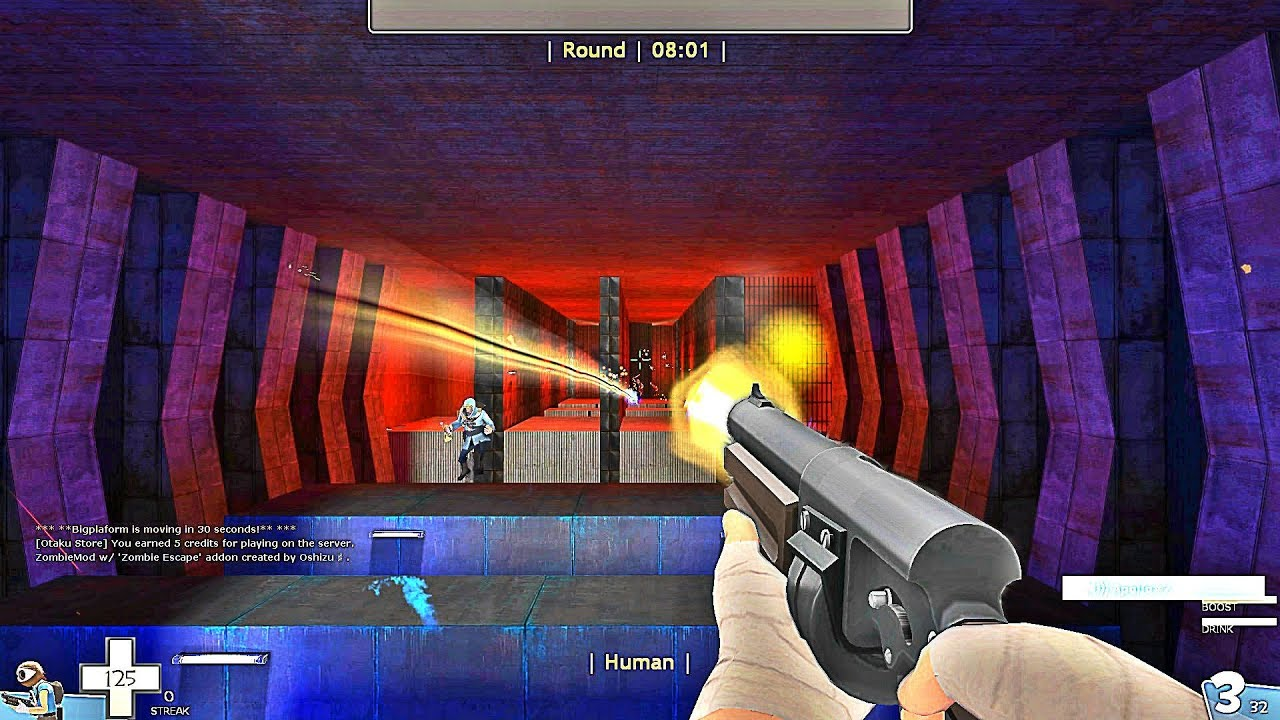 TF2 - Zombie Escape Mod - ze_Nexo_Lab_v1_tf2 - Otaku Server