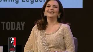 Nita Ambani: The Most Important Role That I Play Is Of A Mother | #LetsConclave2018