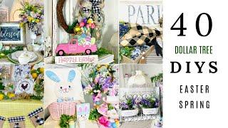 "🌿40 DIY DOLLAR TREE EASTER SPRING DECOR CRAFTS🌿""I LOVE SPRING"" ep. 9 Olivia's Romantic Home DIY"