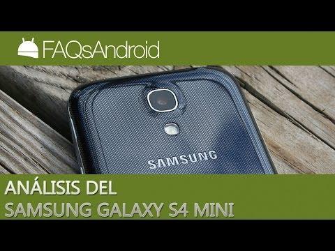 Análisis del Samsung Galaxy S4 Mini en español | FAQsAndroid.com