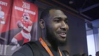 Alabama's Terrell Lewis talks NFL prep, Tua Tagovailoa at Senior Bowl