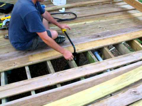 Part 3 Stanley Board Bender Straightening Bent Bowed Deck Boards