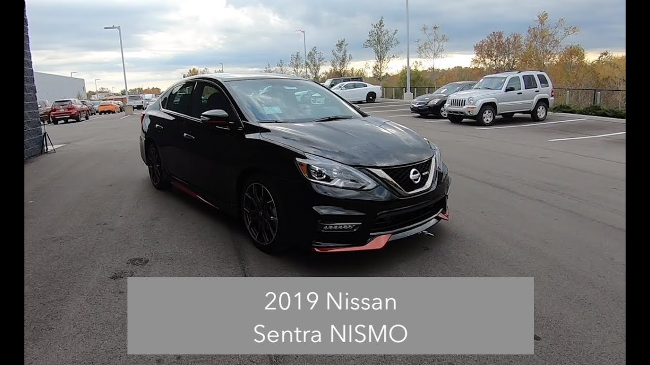 2019 Nissan Sentra Nismo Walk Around Video In Depth Review Test Drive