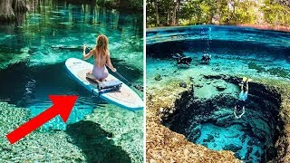 Most BEAUTIFUL Places With Crystal-Clear Water!