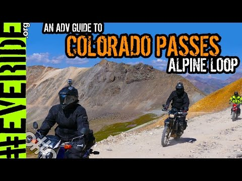 Colorado's Alpine Loop - ADV GUIDE to the PASSES! Imogene, Black Bear, Engineer, & More! #everide