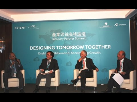 2015/12/02 TTIA 2015 Industry Partner Summit :Productivity 4.0 (Panel Discussion)
