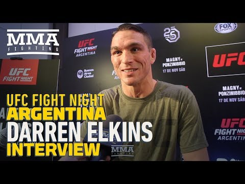UFC Argentina: Darren Elkins Says He Prefers 'Negative Energy' Heading Into Fights - MMA Fighting