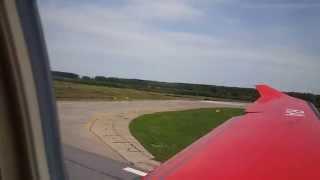 dexter pilatus pc 12 landing in international airport strigino nizhny novgorod goj