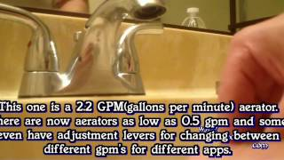 How To Fix Faucet Hot Water Taking A Long Time To Heat Up By Replacing Clogged Aerator