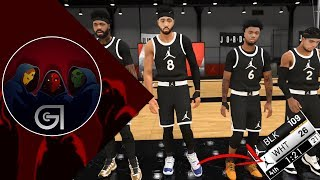 Sniper Steve Scores More than the other team | NBA 2K19 Jordan Rec Gameplay