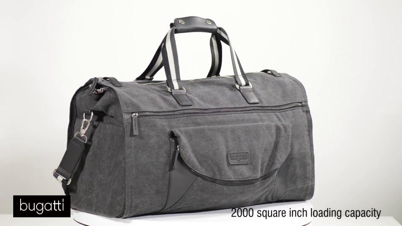 a22577f1f20b Bugatti Duffle Bag 618 - YouTube