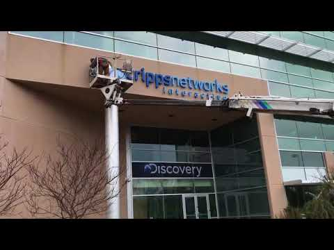 Scripps Networks sign coming down