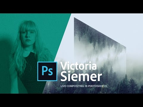 Compositing and typography in Photoshop - Live with Victoria Siemer