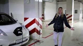 видео Nissan Leaf — тест-драйв