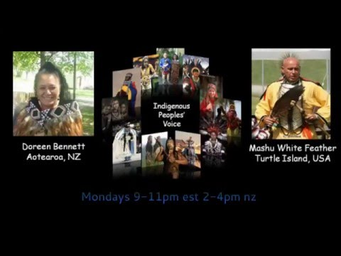 INDIGENOUS PEOPLES' VOICE Maori and Cherokee hosts with Twodog