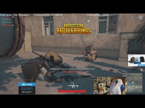 Sneaky and Jensen trolling in PUBG #3 Ft Impact and Jonny
