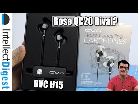0b7d82cc421 OVC H15 Noice Cancelling Earphones Review- Bose QuietComfort 20 Rivals?  Find out!