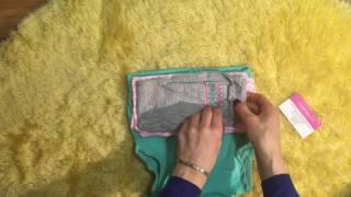 Обзор Carters 2017 комплект с жилетом мятный