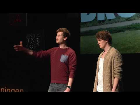 Mastering the struggle of stuttering | Broca Brothers | TEDxGroningen