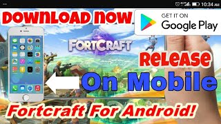 Fortcraft release for Android on Play Store 😮😨😰😱 Download now⬇(By Gaming city