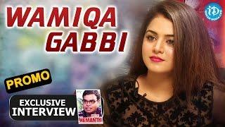 Heroine Wamiqa Gabbi Exclusive Interview - Promo || Talking Movies with iDream