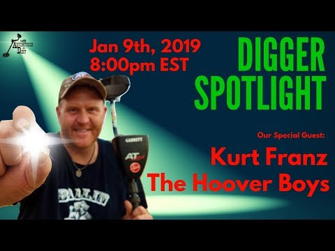 Digger Spotlight with Special Guest: Kurt Franz from The Hoover Boys