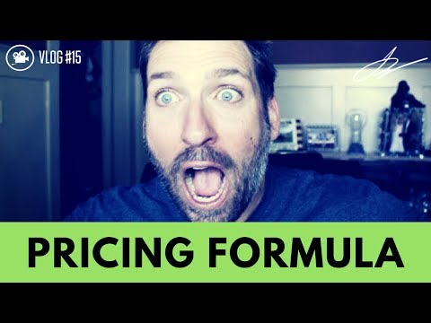 FORMULA FOR PRICING YOUR FIRST ENGAGEMENT WITH THAT CLIENT ~  VLOG #15
