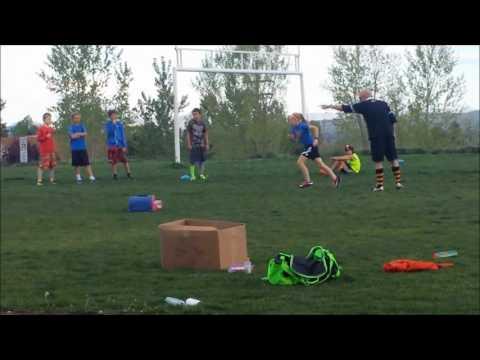 Swarm Rugby 12U Tackling Drill