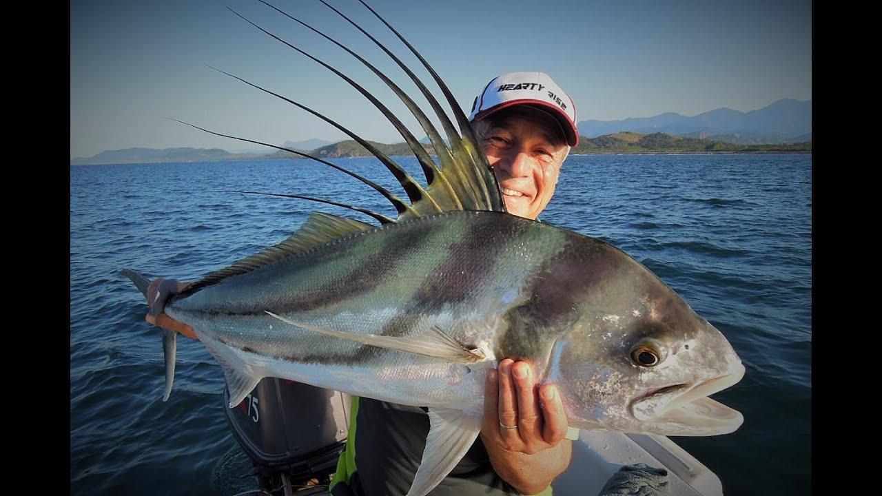 La p che des poissons coqs au mexique p che en mer youtube - Peche du poisson chat au coup ...