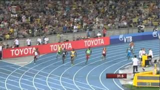Oscar Pistorius - 400m Semi Final IAAF Daegu World Champs 2011