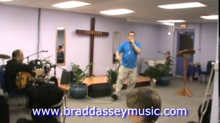 Brad Dassey's Rap Performance At Kingdom Agenda Church Green Bay - Set 2