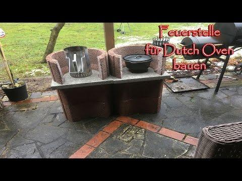 Feuerstelle Fur Den Dutch Oven Bauen Youtube