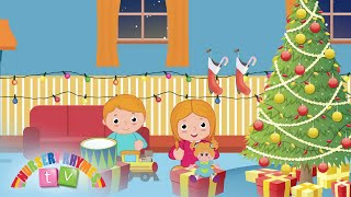 TOYS UNDER THE CHRISTMAS TREE | Christmas Songs | Nursery Rhymes TV | English Songs For Kids