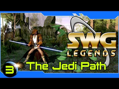 SWG Legends – The Jedi Path – Star Wars Galaxies Jedi Gameplay – Part 3