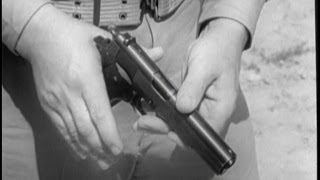 WW2 1911 .45 CAL Pistol Training (720p)