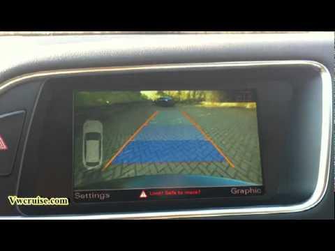 Audi MMi 3G Reverse Camera Demo video, A4 8K A5 8T, Q5, Q7, A8, A7, A1 - YouTube
