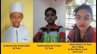 These 3 Rohingya children missing. If found, please contact to Parents