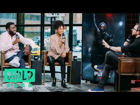 """Y'lan Noel & Lex Scott Davis Talk About Their New Movie, """"The First Purge"""""""