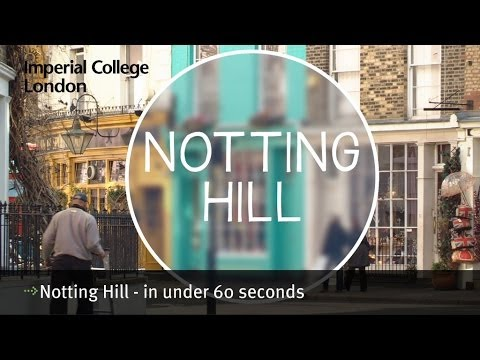 Notting Hill - in under 60 seconds