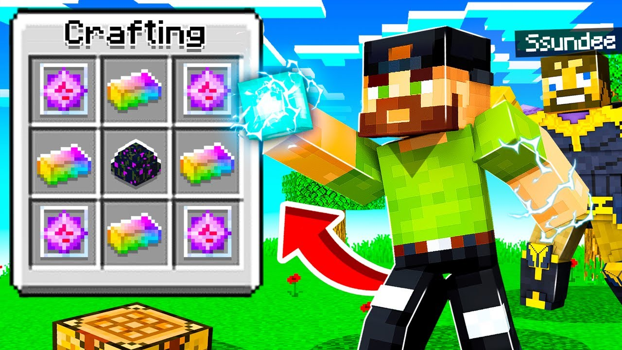 Making an INFINITY STONE in Insane Craft