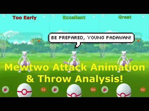Mewtwo Attack Animation and Throw Analysis