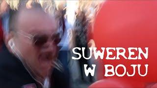 Suweren w bitewnym zapale podczas Marszu równości w Lublinie 13.10.2018